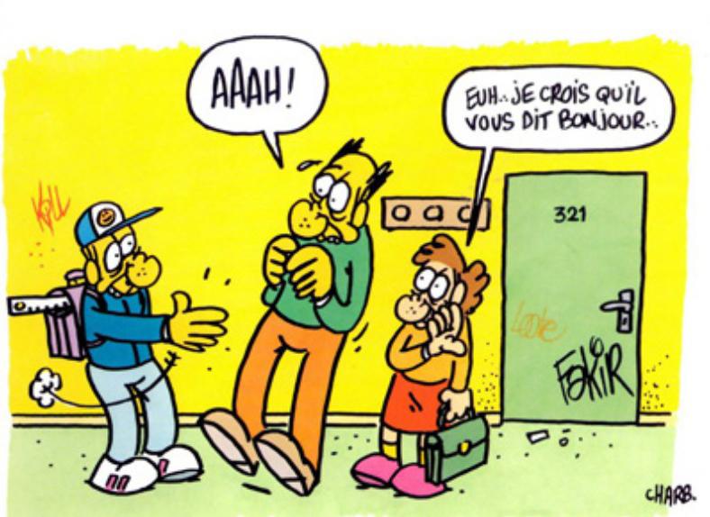 Charb école