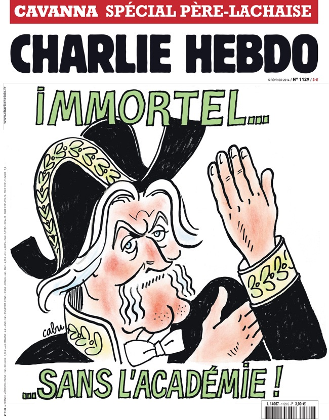 Cavanna Comme Charlie Immortel Sos Racisme