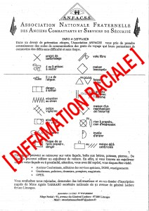 tractANFACSS Diffamation raciale
