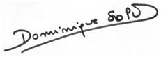 Signature électronique D SOPO